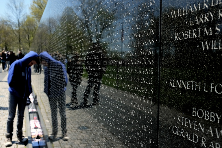 Vietnam Memorial Wall, Washington DC
