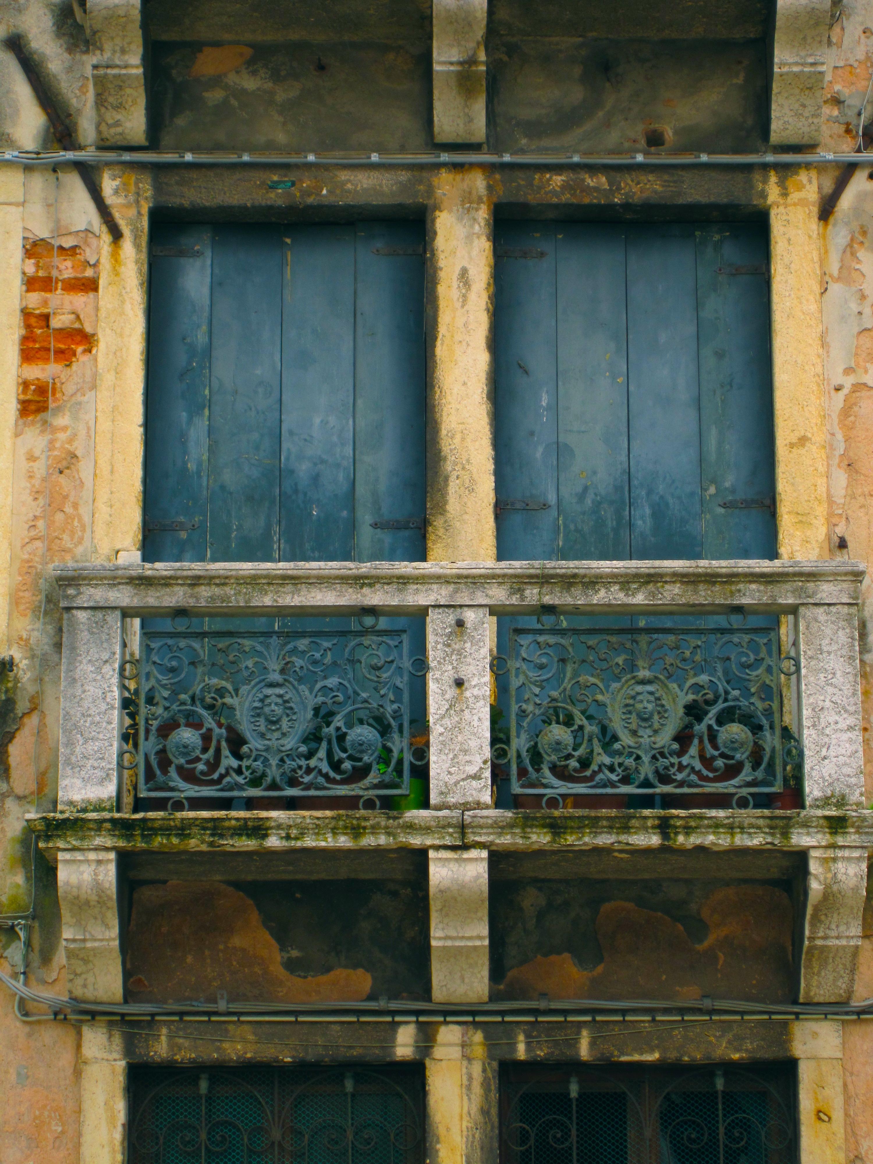 Window shutters, Santa Lucia, Venice