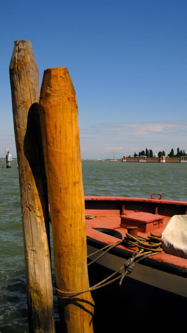 Mooring posts, Venice
