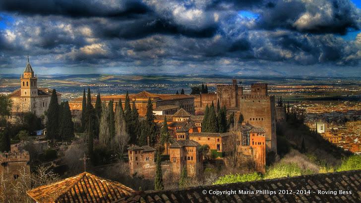 Alhambra Palace Keep HDR Dynamic