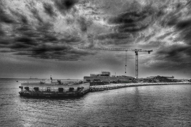 Crane at Sabioni