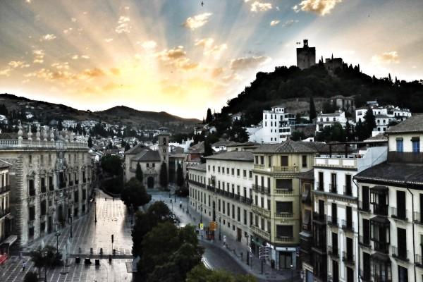 Dawn over Granada