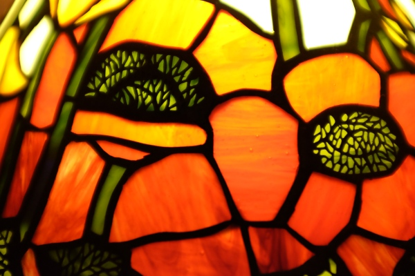 Poppy Tiffany Lamp