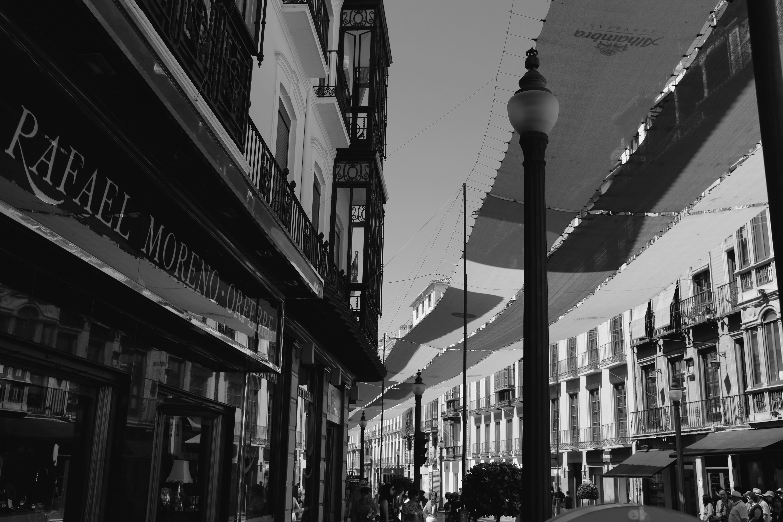 Shooting Street in Granada