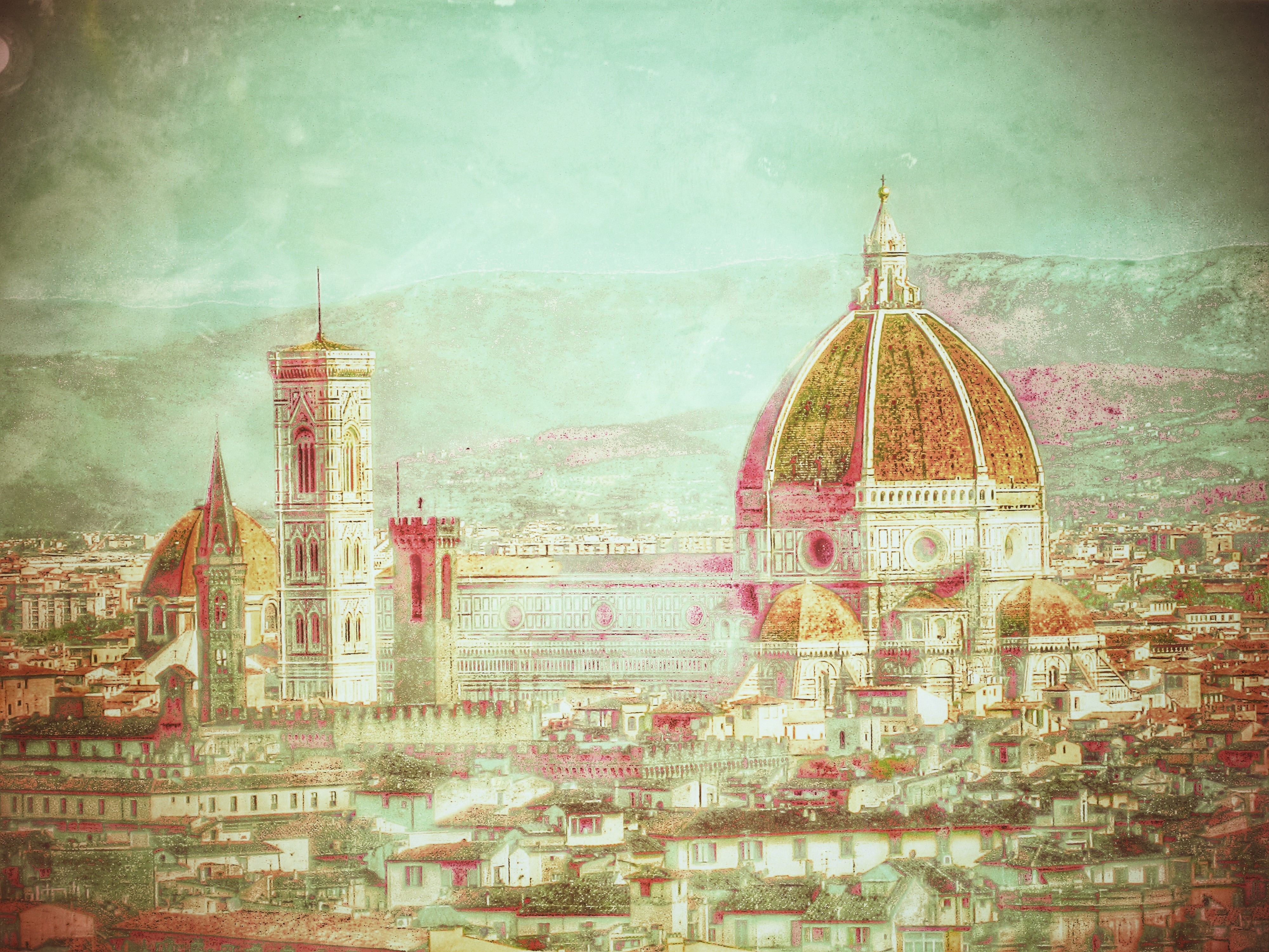Painted Florence: Il Duomo
