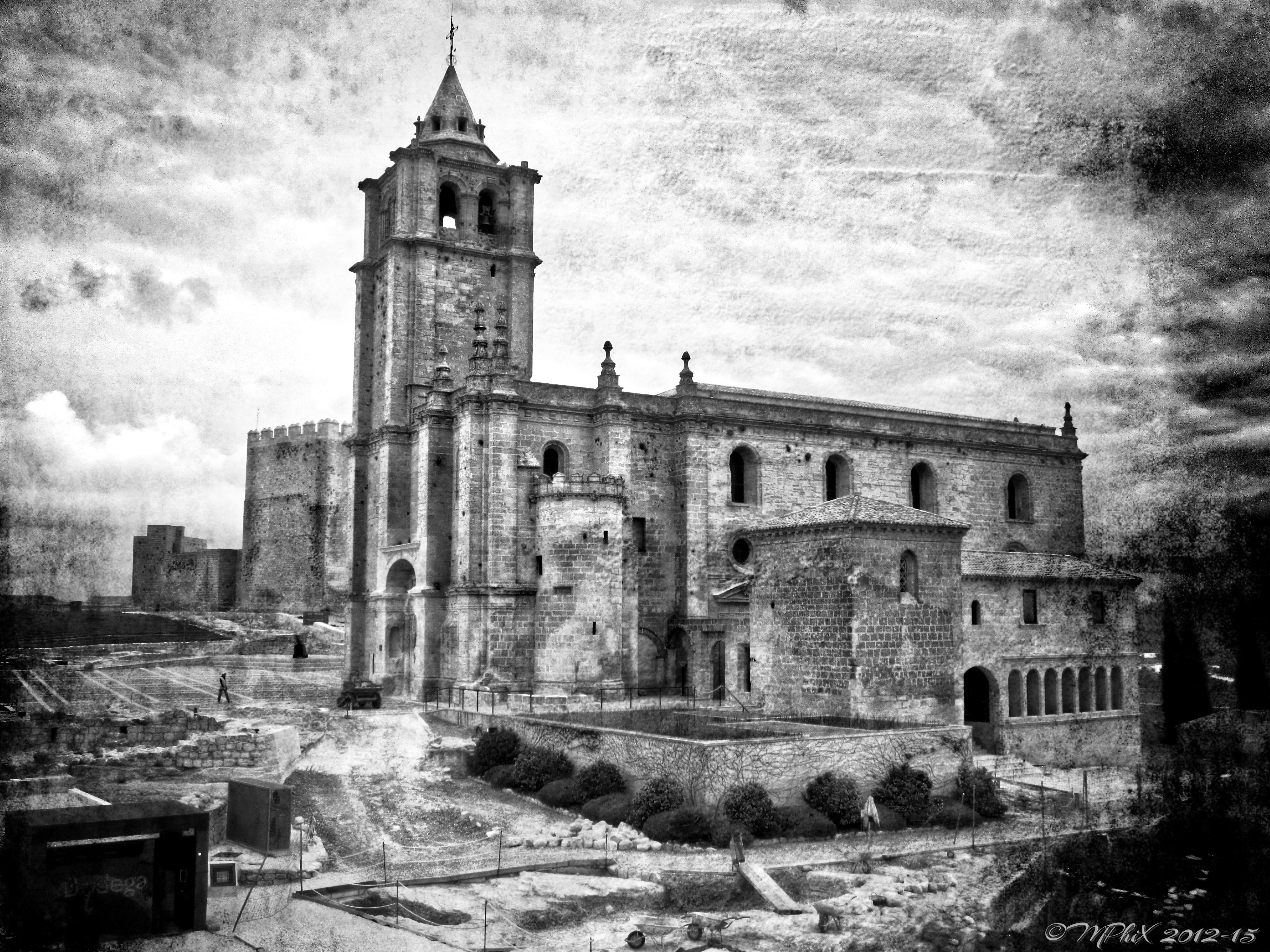Ancient Spanish Church